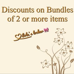 🎀Welcome to Lola's Locker Bundle Discounts🎀Shoes